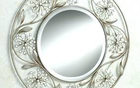 black and white wall mirror set small