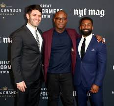 Barry Jenkins, Wesley Morris, Jake Silverstein - Wesley Morris Photos - The  New York Times Magazine Celebrates The Great Performers Issue - Zimbio
