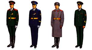 the russian military uniforms