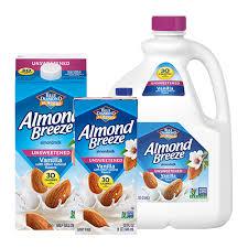 unsweetened vanilla almondmilk almond