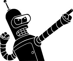 Bender 2 Decal Unique Soldtique