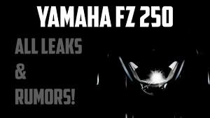 yamaha fz 250 all leaks rumors you
