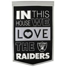 Las Vegas Raiders 15 X 24 Home Banner