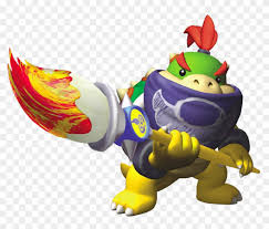 Super Mario Series Super Mario Sunshine Bowser Jr Free Transparent Png Clipart Images Download