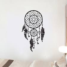 Indian Amulets Decorative Vinyl Wall Decals Dream Catcher Home Decor Wall Stickers In The Living Room Stickers Wall Decals Stickers Wall Decor From Moderndecal 9 94 Dhgate Com