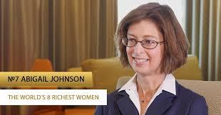 The world's 8 richest women: Abigail Johnson | PaySpace Magazine