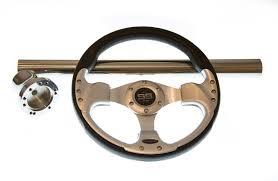 Ez Go Rxv Txt Chrome Black Steering Wheel Hub Adapter Chrome Cover Kit Us Golf Cars