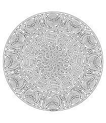 Kleurplaat Dieren Kleurplaat Mandala Animaatjes Nl