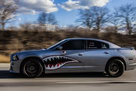 Shark Mouth And Eye Decal