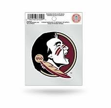 Florida State Seminoles Static Cling Window Decal Sticker Fsu For Sale Online Ebay