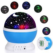 Romantic Star Sky Projector Constellation Starry Led Night Light Baby Boy Kids Lamp Moon Rotating Cosmos Toys Gift Walmart Com Walmart Com