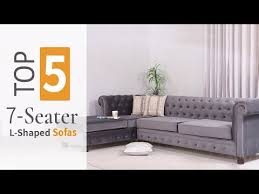 7 seater l shaped sofa set designs