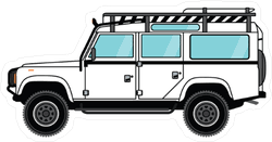 Jeep Off Road Car Stickers Decals Customizable Durable