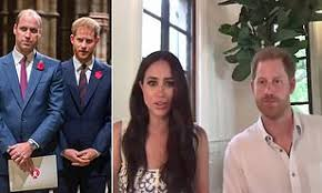 Prince Harry and William have 'spoken more' since Sussexes moved to  California | Daily Mail Online