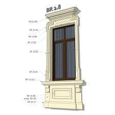 111 exterior window trim kits art facade