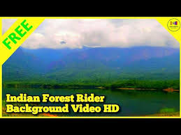 indian forest rider hd background