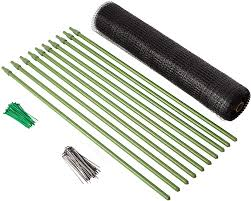 Tenax 084060 2a130002 Deer Fence Kit Pack Of 2 7 X 100 Fence Accessories