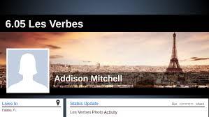 6.05 Les Verbes by Addie Mitchell