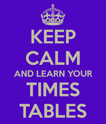 Image result for learn your times tables