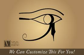 Eye Of Horus Right Eye Egyptian Gods Symbol Of Protection And Good Health A Wall Window Or Car Decor Vinyl Decal Sticker Graphic Art 2278