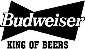 Budweiser King Of Beers Vinyl Cut Decal