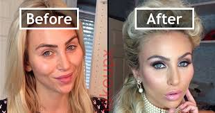 before and after photos makeup