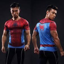 mens batman fitness pression shirt