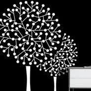 White Birch Trees Wall Decal Dezign With A Z