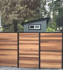 Vista Railing Privacy Fence Cedar Fence Panels Poco Supplies Building