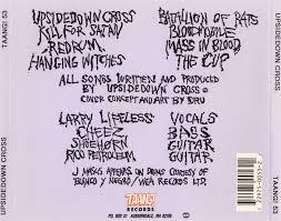 Nightmare be thy Name: Upsidedown Cross - Upsidedown Cross (1991)