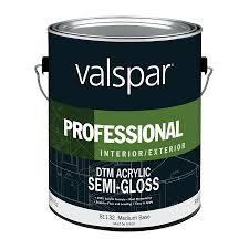 Valsparvalspar Direct To Metal Medium Semi Gloss Interior Exterior Tintable Paint 1 Gallon 045 0081132 007 Dailymail