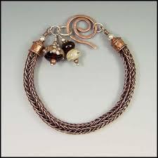 viking knit gl bead bracelet