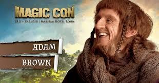 Adam Brown at MAGICCON. Come and meet Ori!