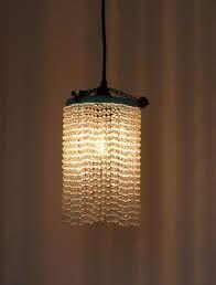 how to diy beaded pendant light diy