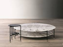 round coffee table by meridiani design