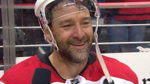 Justin Williams tearfully breaks down Game 7 win - YouTube