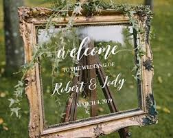 Welcome Decal Etsy
