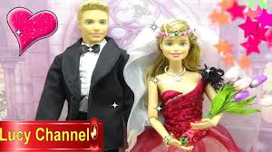 Đồ chơi Lucy Búp bê Barbie & Ken đám cưới cô dâu chú rể Toy story ...