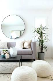 mirror over couch ideas medium size of