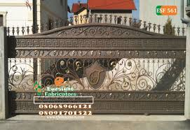 Wrought Iron Handrails Staircase Protectors Fencerails 08068966121 Properties Nigeria