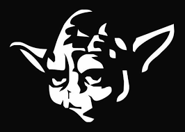 Star Wars Yoda White Vinyl Car Decal Art Wall Sticker Car Usa 6 Swift On Star Wars