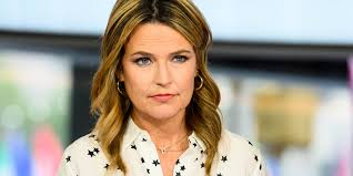 Savannah Guthrie opens up about eye ...