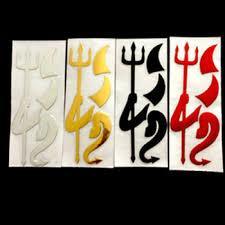 Car Sticker Fashion 3d Little Devil Demon Styling Auto Emblem Logo Pvc Decals Decoration Diy Accessories Garnabdeahdera44
