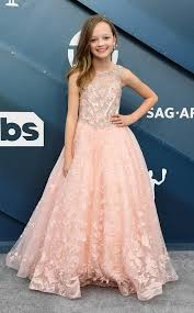 Ivy George from SAG Awards 2020 Red Carpet Fashion in 2020 | Fashion, Red  carpet fashion, Pink dress