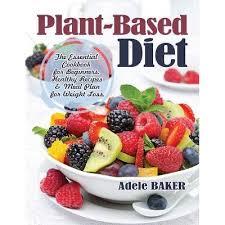 Plant-Based Diet - By Adele Baker (Paperback) : Target