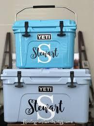 Personalize Your Yeti Cooler Yeti Decals Yeti Cooler Yeti Roadie