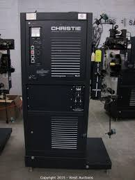 West Auctions - Auction: Movie Theater Electronics and Commercial  Refreshment Equipment ITEM: Christie Xenon Illuminator SLC with Christie  Projector