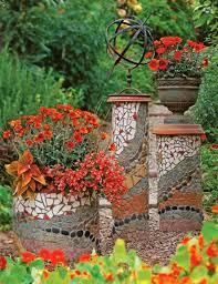diy garden mosaics projects