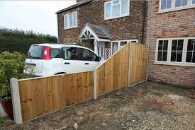 Slotted Fence Posts Gravel Boards Allen Concrete