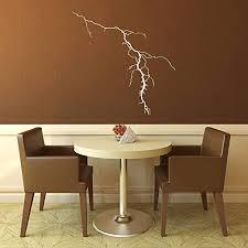 Amazon Com Wall Decal Lightning Strike Lightning Decal Atmosphere Electricity Sticker Wall Stickers Lightning Streak Nikola Tesla Wall Art Home Kitchen